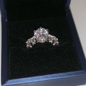 White Sapphire Women's Ring